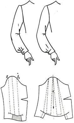 Incir.  Manşeti alttan ile 187. Uzun kollu
