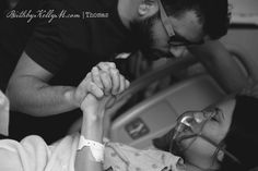 Birth Photos // I found the images with fathers particularly touching, since they, for the most part, are bystanders, watching the person they love go up the veil and pull both of their child through. It's tough for both mommy and daddy. Baby Hospital Pictures, Birth Pictures, Birth Photos, Newborn Photos, Pregnancy Photos, Baby Photos, Birth Photography, Maternity Photography, Delivery Pictures