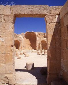 Ruins of Al Subeitta in Sahraa Al Naqab, Falasteen