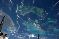 Photo by Space Shuttle Atlantis Pilot Doug Hurley, taken from the International Space Station Cupola  July 12, 2011