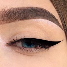 48 Ideas For Eye Makeup Art Eyeliner Lipsticks Simple Eye Makeup, Cute Makeup, Gorgeous Makeup, Natural Makeup, Perfect Makeup, Makeup Goals, Makeup Inspo, Makeup Art, Makeup Trends
