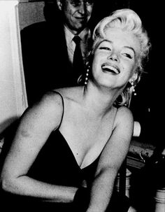 """""""Marilyn Monroe at a press conference for The Prince and the Showgirl, 1956.  """""""