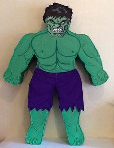 The incredible Hulk piñata.