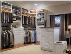 Create a closet made just for him with the help of professional designers and installers. MasterSuite is the perfect way to bring your dream closet to life.  #ClosetGoals #MansCloset #HomeOrganization #BedroomCloset #ClosetMaid Best Closet Systems, Closet Storage Systems, Ikea Closet Organizer, Best Closet Organization, Storage Solutions, Organization Ideas, Storage Closets, Shoes Organizer, Closet Walk-in