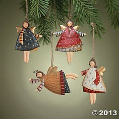 Dancing Angel Ornaments  Terry's Village