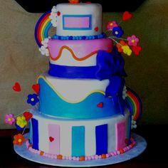 my daughter bella's first birthday cake