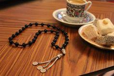 Black prayer beads Free Shipping  Turkish by RosaryIstanbul