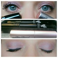 Younique 3D Mascara vs Too Faced www.TheLashLove.com No other mascara compares to Younique 3D Fiber Lash Mascara https://www.youniqueproducts.com/TriciaFoster/party/637028/view