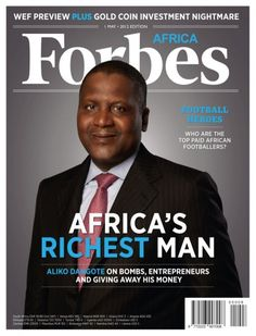 Aliko Dangote : Africa's richest man : a billionnaire who made his fortune in the cement industry