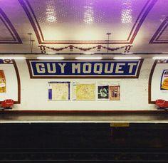 Guy Moquet Paris metro
