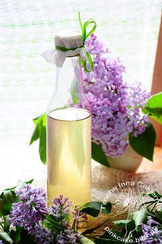 Syrop z bzu lilaka Lilac syrup