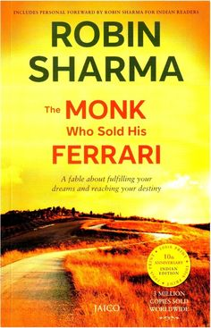Robin Sharma Books gives you a clear insight into what you should focus on. i.e. not money but your passion and your life. Robin Sharma Book The Monk Who Sold His Ferrari  acquaints you with the whole-host of the techniques existing form the ages to improve ???standard of life??? which originates from the self and gives everlasting happiness.  http://www.flipkartzone.com/robin-sharma-books-monk-sold-ferrari/  #Books #FlipkartBooks #Robin Sharma
