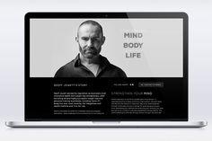 Geoff Jowett Website #web #design #responsive #simplicity