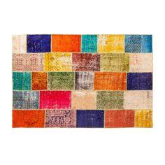 Cargo Lane - Turkish Patchwork Over Dyed Rug, $2,970.00 (http://www.cargolane.com.au/turkish-patchwork-over-dyed-rug/)