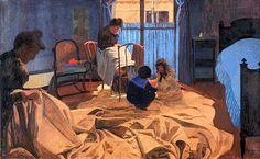 The Laundress, Blue Room - 1900 - Felix Vallotton
