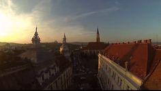 Orasul Cluj filmat cu o drona. Imagini spectaculoase!