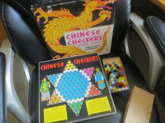 Vintage Copp Clark Chinese Checkers