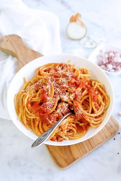 Classic Pasta Amatriciana Sauce image