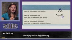 Multiply with Regrouping | Skubes