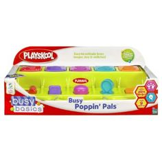 Amazon.com: Playskool Busy Poppin' Pals (Colors May Vary): Toys & Games