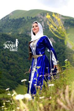Traditional Chechen dress.