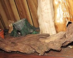 Driftwood aquarium decor, reptile furniture, a naturalistic habitat for any animal. Great gardening and landscaping decoration #29