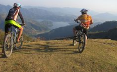 Pokhara Small Group Bike Tour Including Legendary 'Royal Trek' Route in Nepal Asia Local Eatery, Hillside Landscaping, Adventure Tours, Day Tours, Small Groups, The Locals, Nepal, Mountain Biking, Countryside