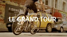 Budnitz: Le Grand Tour by Budnitz Bicycles. A recalcitrant bicycle thief falls in love with the bicycle he's stolen.   Inspired by the films of François Truffaut.  Created by Budnitz Bicycles, directed by Russ Lamoureux, produced by Partizan.   3 minutes.