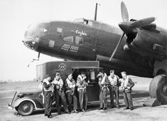 http://ww2today.com/wp-content/uploads/2013/04/Halifax-ceylon.jpg Handley-Page Halifax 'G for George', an aircraft bought for the Royal Air Force by the people of Ceylon, with its typically mixed Bomber Command crew of British, Canadians, New Zealanders and Australians, at RAF Driffield, Yorkshire.