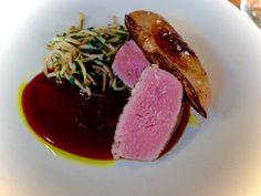 Japanese fusion cuisine - Boeuf rossini et pousses de soja - www.iloli-restaurant.com
