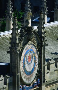 Sun Dial at All Souls College
