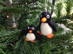 Felted penguins