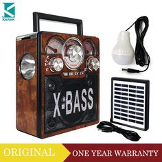 Solar Radio FM AM SW 3 Bands  Flashlight MP3 Solar Torch Radio USB SD TF Card