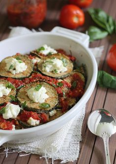 #Zucchini #ricotta bake #lowcarb ♥ shared via https://facebook.com/lowcarbzen