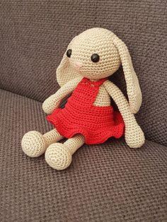 Jenny the Bunny, a bit bigger than the other Jenny the Bunny pattern.