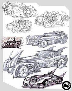 Concept art for Darren Aronofsky's Batman movie that never was...