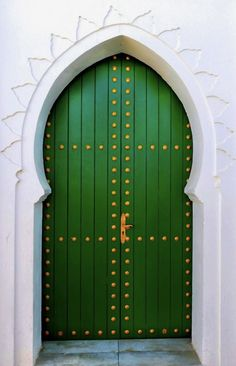 Cool Doors, Unique Doors, Islamic Architecture, Architecture Details, Entrance Doors, Doorway, Moroccan Doors, When One Door Closes, Door Gate