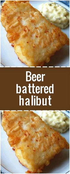 Ingredients lbs halibut filets (or substitute similar firm-fleshed fish) 2 egg whites 1 cup flour teaspoon salt 2 teaspoon canola oil 1 cup beer Directions Cut halibut into pieces, about 3 inches square. Best Halibut Recipes, Fish Recipes Trout, Salmon Recipes, Grilled Halibut Recipes, Halibut Batter Recipe, Beer Batter Recipe, Fresh Fish Recipes, Beer Recipes, Root Beer