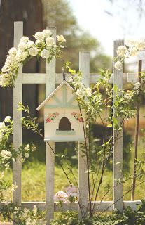 spring folk birds house!