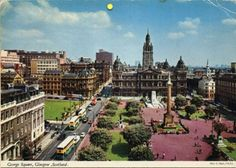 George Square, Glasgow, Scotland... Beam me there, Scotty!