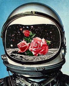С днем космонавтики, друзья. Гагарин в каждом из нас! #gagarin #cosmonaut #scifi #scifiart #scifi_sound