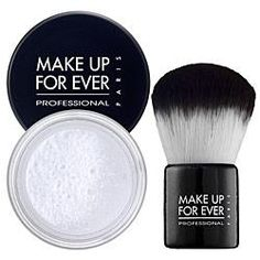 Make Up Forever HD Translucent Powder A MUST!!!! Sets your make up until you take it off!