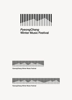 PWMF (PyeongChang Winter Music Festival) BI, Gangwon Art & Culture Foundation, 2016