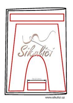 Výroba střihu na turecké kalhoty - Šikulíci