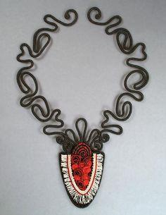 Украшения в технике макраме с бисером - Ярмарка Мастеров - ручная работа, handmade