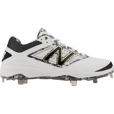 New Balance Men's Dustin Pedroia 4040 V3 Metal Baseball Cleats, Size: 16,  Black