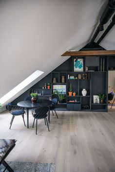 When considering extending your home, there is lot to consider. Generally speaking a loft conversion is cheaper than building an extension, but whether it Attic Office Space, Small Attic Room, Loft Office, Attic Rooms, Attic Spaces, Loft Conversion Plans, Loft Conversion Design, Loft Conversion Bedroom, Loft Conversions