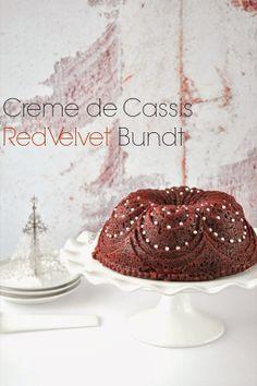 Creme de Cassis Red Velvet Bundt Cake