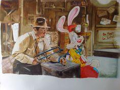 Riproduzione film Roger Rabbit di ledesmashop su Etsy