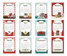 12.95 2016 Calendar Cards